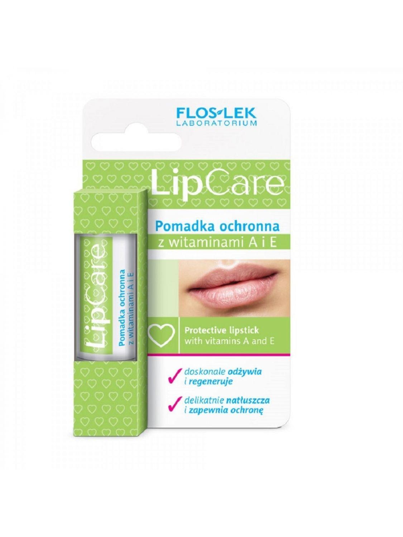 Pomadka do ust Witamina A+E lipstick LIP CARE ochronna FLOSLEK