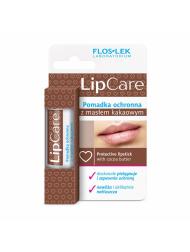 Pomadka do ust z masłem kakaowym lipstick LIP CARE ochronna masło kakaowe