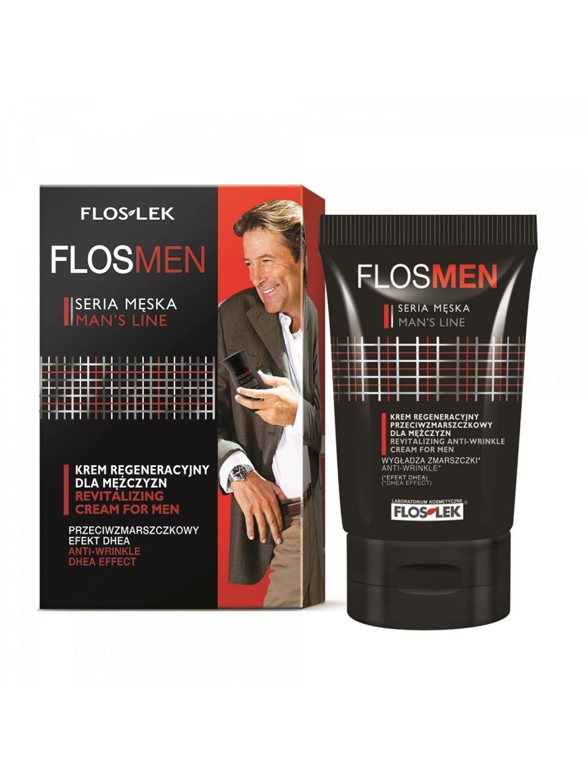 Floslek FLOS MEN krem regeneracyjny przeciwzmarszczkowy dla mężczyzn