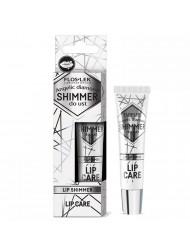 Shimmer do ust Angelic Diamond Błyszczyk nawilżający w kolorze metalicznym Floslek Lip Care nawilżający