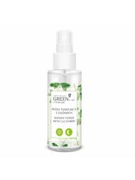 Woda tonizująca z ogórkiem GREEN for skin FLOSLEK
