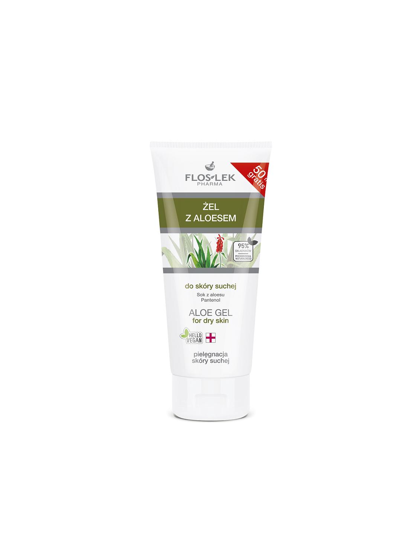 Aloe gel for dry skin - 200 ml Floslek