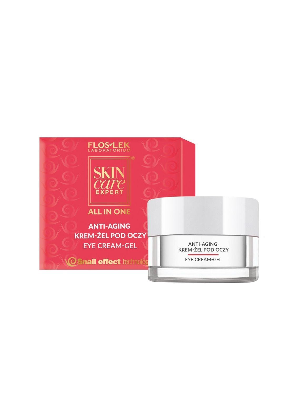 SKIN CARE EXPERT® ALL IN ONE Anti-aging Eye cream-gel - 15 ml - Floslek