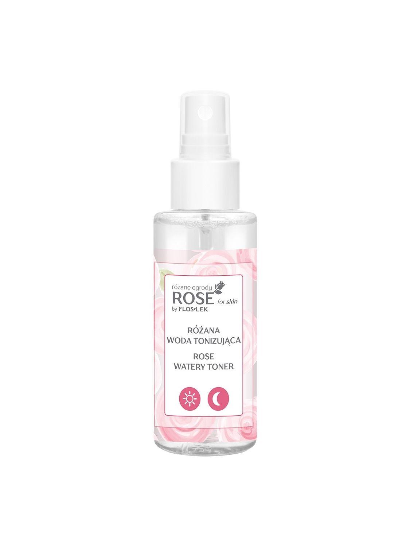 ROSE FOR SKIN Rosengärten Tonisierendes Rosenwasser 95 ml - Floslek