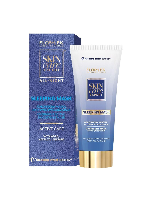 SKIN CARE EXPERT® ALL-NIGHT Aktiv-Glättungsmaske über Nacht 75 ml - Floslek