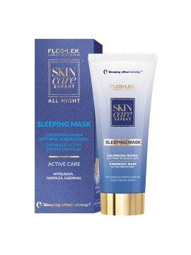 Maska wygładzająca z kwasem hialuronowym na noc Floslek Skin care Expert ALL NIGHT