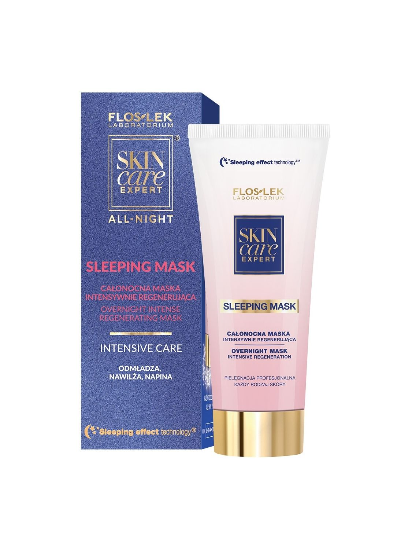 SKIN CARE EXPERT® ALL-NIGHT regenerierende & intensive Nachtmaske 75 ml - Floslek