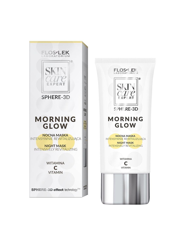 SKIN CARE EXPERT SPHERE-3D MORNING GLOW Intensiv revitalisierende All-Night-Maske Vitamin C 50 ml - Floslek