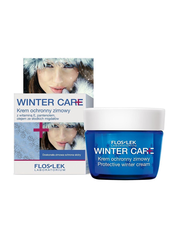 Krem zimowy ochronny WINTER CARE z witamina E i olejkiem ze słodkich migdałów FLOSLEK 50ml