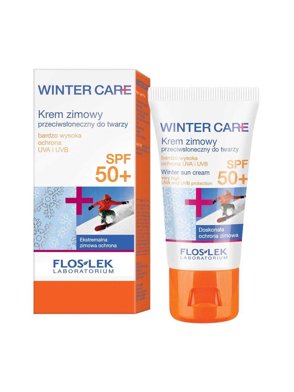 WINTER CARE Gesichtscreme mit Sonnenschutz SPF 50+ 30 ml - Floslek