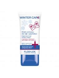 Krem zimowy do zadań specjalnych nawilżający z keratyną i witaminą E do pielęgnacji rąk i paznokci FLOSLEK WINTER CARE 50 ml