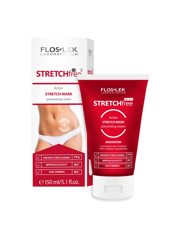 SLIM LINE Strech free Active stretch mark preventing cream - 150 ml - Floslek
