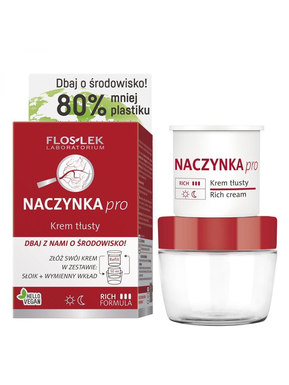 CAPILLARIES pro Rich cream [ECO set] - 50 ml - Floslek