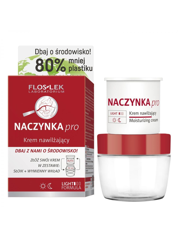 CAPILLARIES pro® Moisturizing cream [ECO set] - 50 ml - Floslek