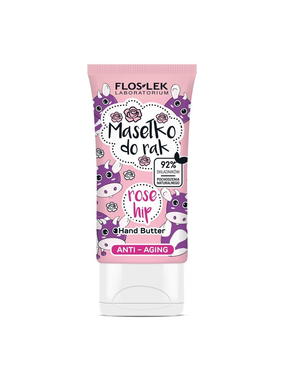 Hand Butter Anti-Aging Rose hip - 50 ml - Floslek