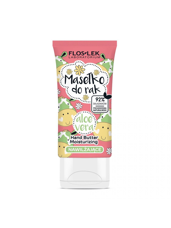 HAND CARE Feuchtigkeitsspendende Handbutter Aloe Vera 50 ml - Floslek