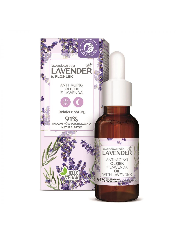 LAVENDER Lavendelfelder ANTI-AGING Lavendelöl 30 ml - Floslek