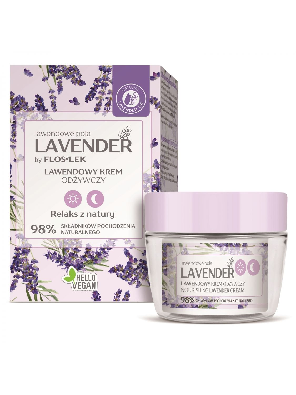 LAVENDER lavender fields Nourishing lavender day and night cream - 50 ml - Floslek