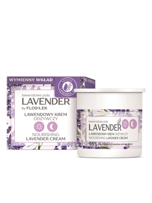LAVENDER lavender fields Nourishing lavender day and night cream - REFILL 50 ml - Floslek