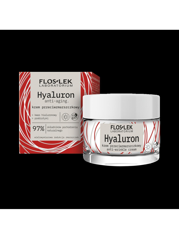 HYALURON Anti-wrinkle day cream - 50 ml - Floslek