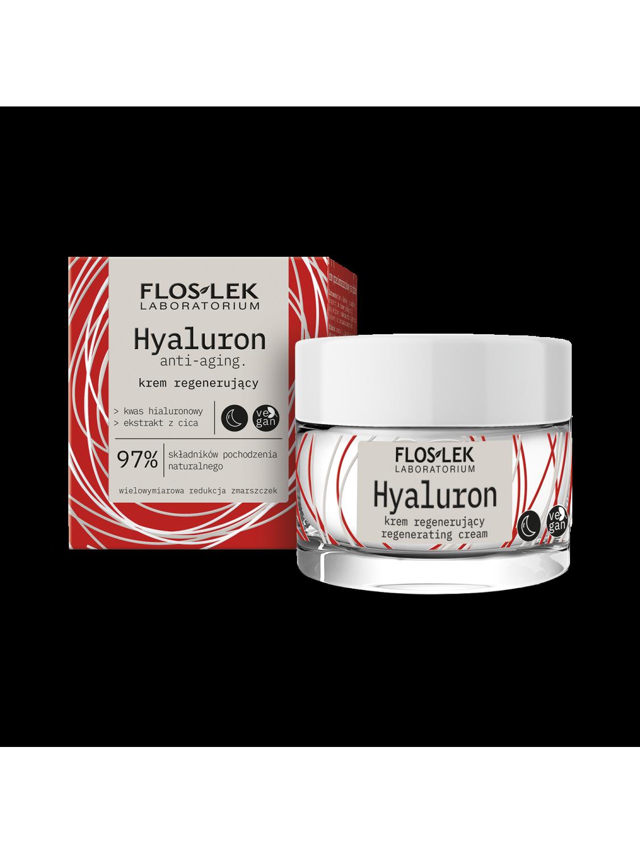 HYALURON Regenerating night cream - 50 ml - Floslek