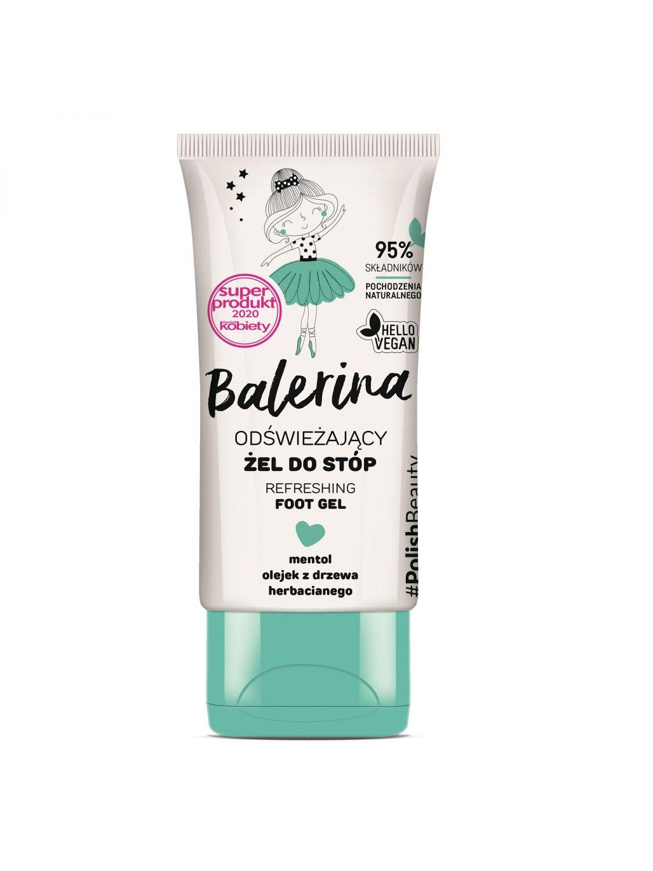 BALERINA Refreshing foot gel 50 ml - Floslek
