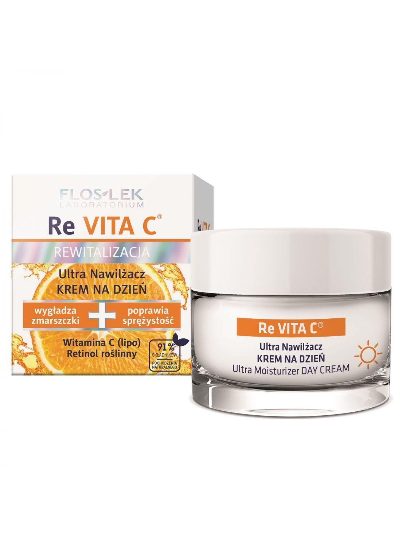 ReVITA C Ultra-Feuchtigkeits-Tagescreme 50 ml - Floslek