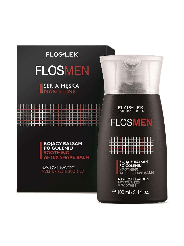 FLOSMEN® Успокаивающий бальзам после бритья