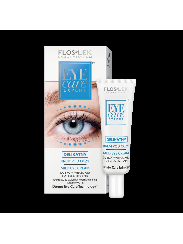 EYE CARE EXPERT® Mild eye cream for sensitive skin - 30 ml - Floslek