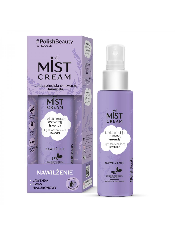 Mist CREAM Легкая эмульсия для лица лаванда