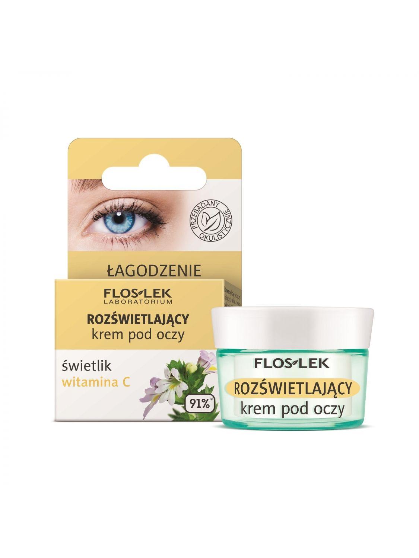 Leuchtende Augencreme Augentrost Vitamin C 15 ml - Floslek