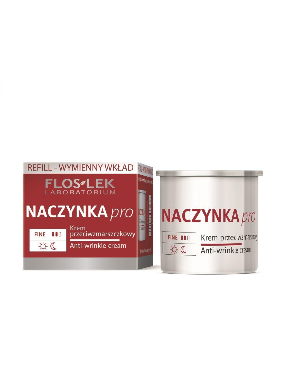 BLUTGEFÄSSE PRO Anti-Falten Creme Refill (Nachfüllpackung) 50 ml - Floslek
