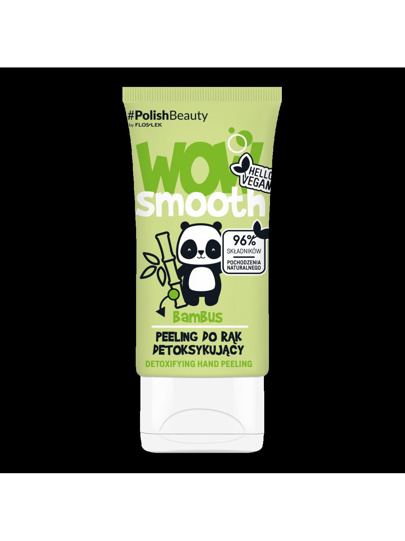 WOW SMOOTH! Detoxifying hand peeling BAMBOO - 50 g - Floslek