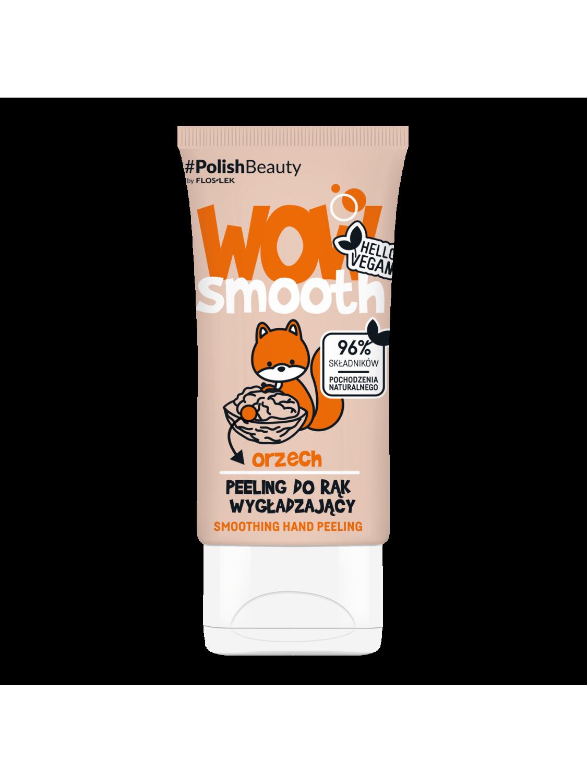 WOW SMOOTH! Smoothing Hand Peeling WALNUT - 50 g - Floslek