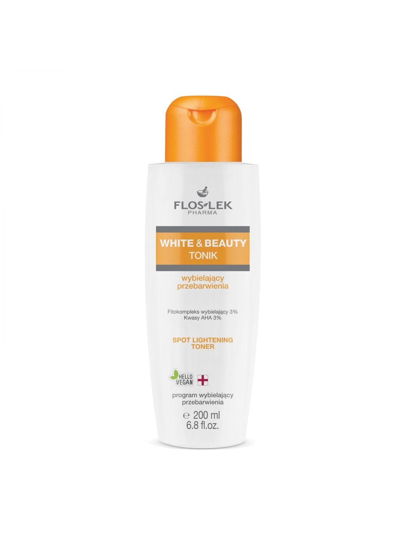 WHITE & BEAUTY® das Aufhellende Tonic für Verfärbungen 200 ml - Floslek