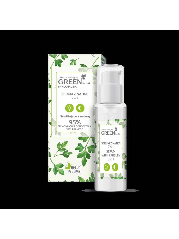 GREEN for skin® Зеленые овощи Сыворотка с петрушкой 3 в 1